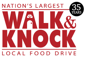 walk and knock 35 yrs logo