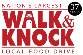 walk and knock 37 yrs logo